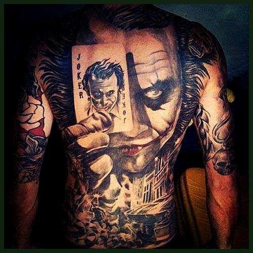 Beste Joker Tattoo Designs Armeltatowierungen