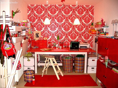 my crafting room...#1 | Flickr: Intercambio de fotos