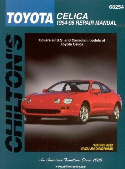 Chiltons toyota celica 1994 98 repair manual products pinterest chiltons toyota celica 1994 98 repair manual fandeluxe Images