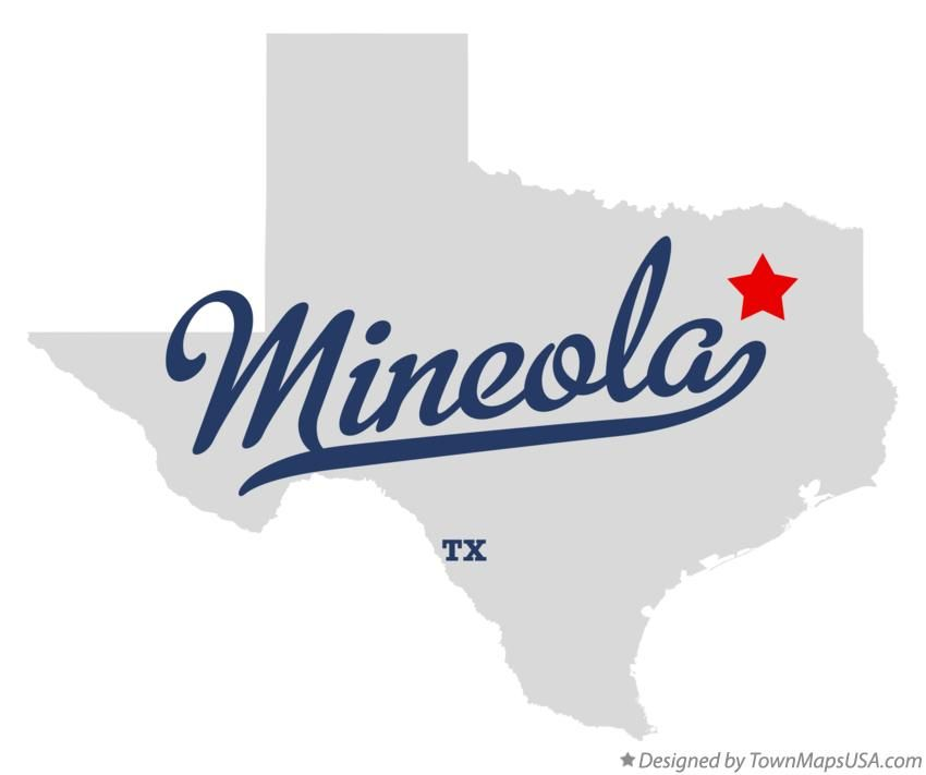 Mineola Texas Map Map of Mineola Texas TX | Mineola texas, Mineola, Texas map