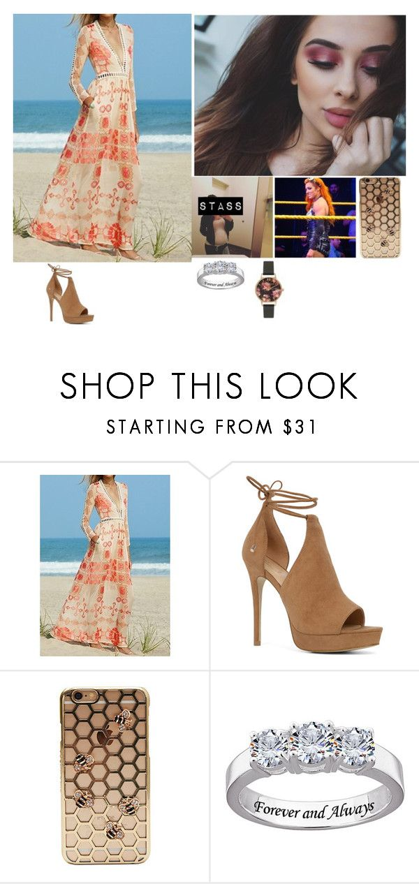 """""""SmackDown"""" by banks-on-it ❤ liked on Polyvore featuring ALDO and Olivia Burton"""