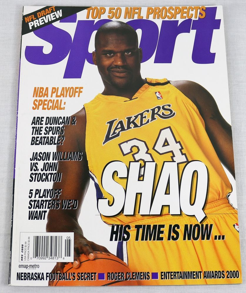 Sport Magazine May 2000 Shaquille O'Neal Jason Williams Roger ...