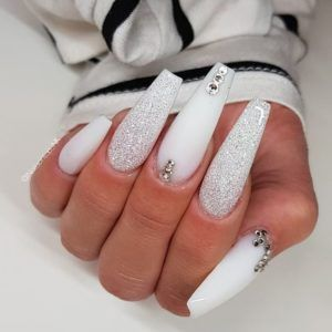 Acrylic Nails Coffin – Coffin nails designs – Water – Acrylic Nails Coffin – Honorable BLog – Coffin nails designs