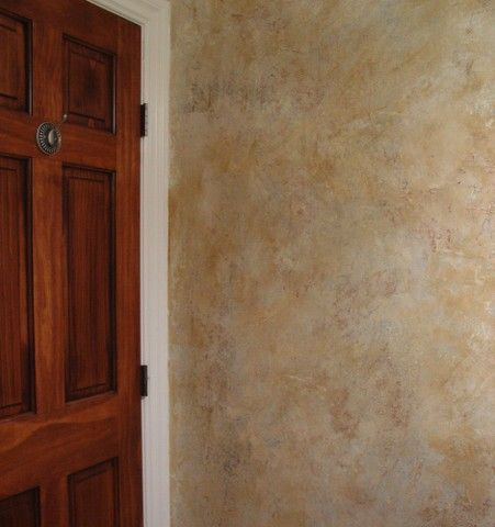 Fresh Paint   Faux Finishes Bathroom Mica Knockdown