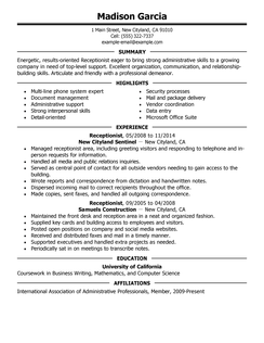 Live Career Resume Best Resume Examples For Your Job Search  Livecareer  Housekeeping .
