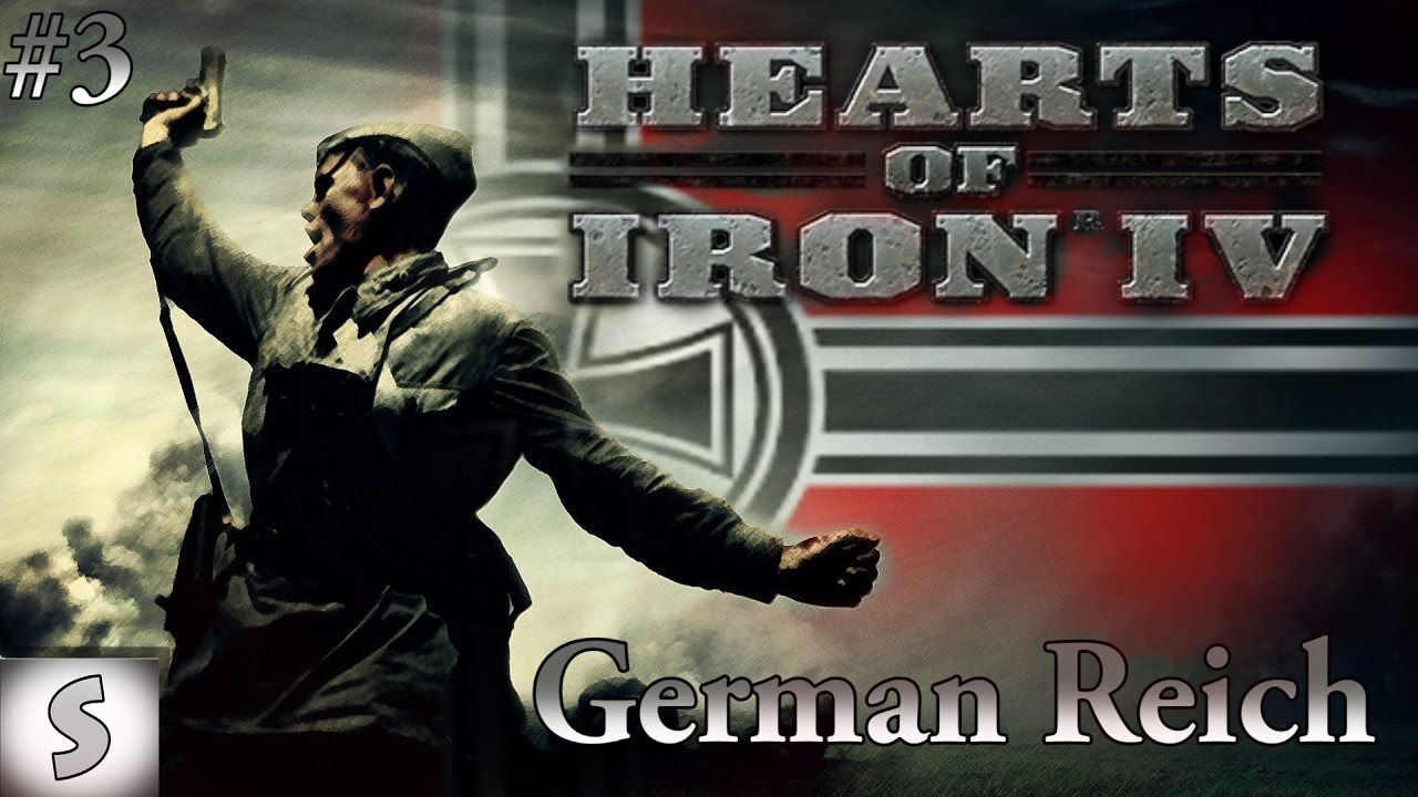 Hearts of Iron IV ( HOI4 ) --- German Reich #3 --- Rubber