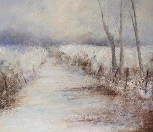 Mid-Cornwall Galleries: Winter Path - Luss, Loch Lomond