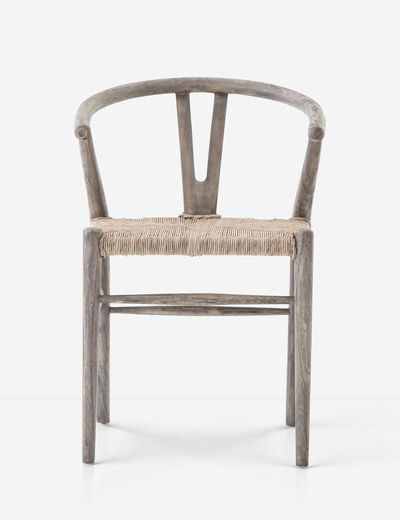 Gradie Indoor Outdoor Dining Chair Weathered Gray In 2020 Dining Chairs Teak Dining Chairs Velvet Dining Chairs