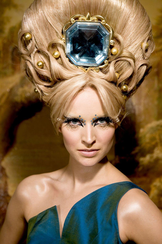 Las mejores variaciones de peinados de pasarela Imagen De Tendencias De Color De Pelo - Patty Bruin for Queen's Sister , Beauty and Hair art (2009 ...