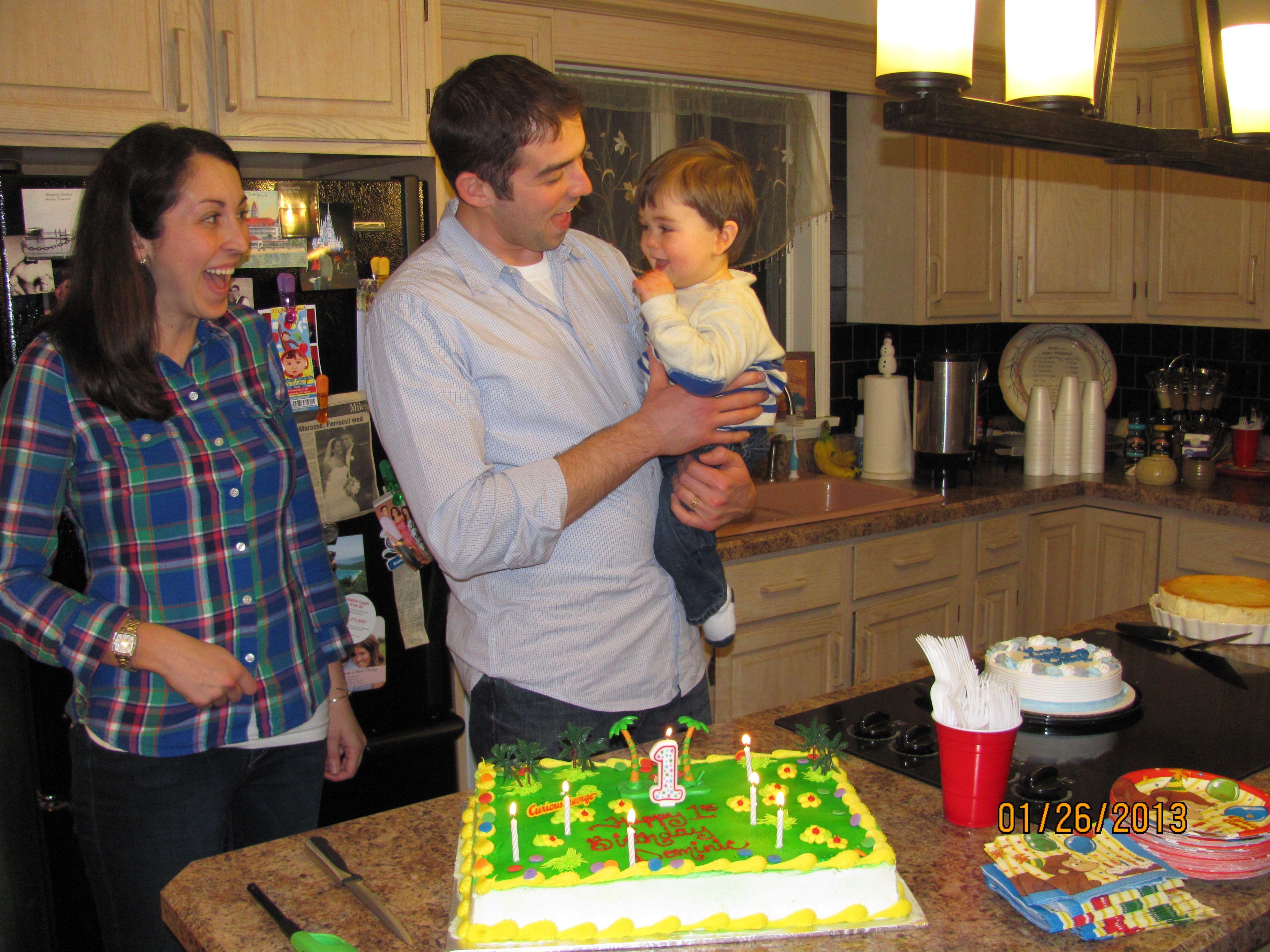 Dominic's 1st Birthday!