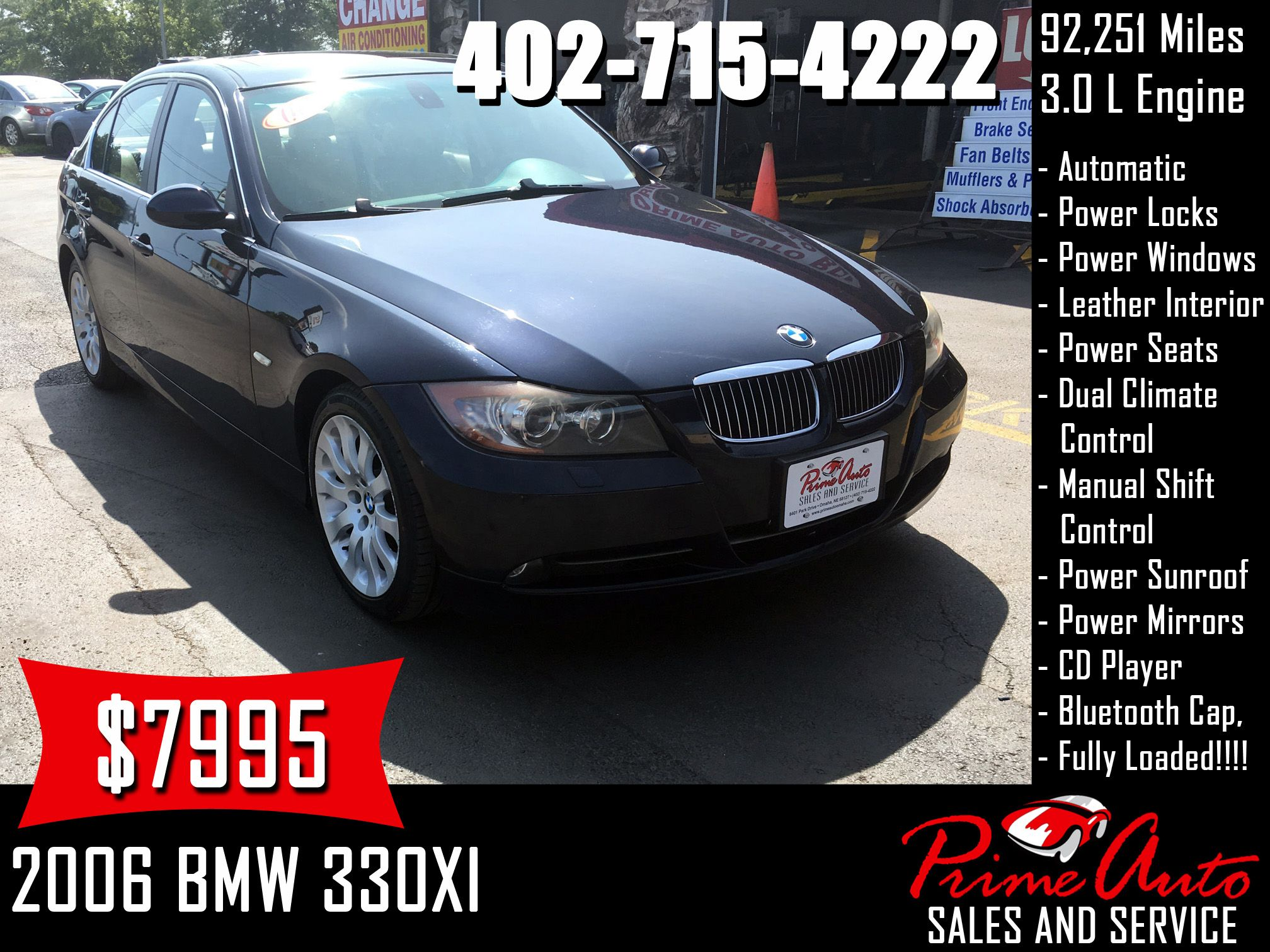 2006 Bmw 330xi Call Us Today 402 715 4222 Bmw 330xi 3series Awd Luxury Cars Auto Omaha Carsforsale Buyme Bmw Car Repair Service Used Car Lots