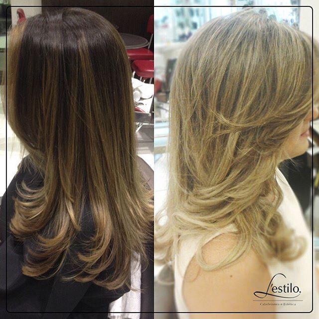 Morena com #californianas ou loira com #mechas para um visual deslumbrante? Venha ao #lestilo e deixe os #profissionaislestilo cuidarem dos seus cabelos!  #morena #loira #instahair #beleza #panamby #morumbi
