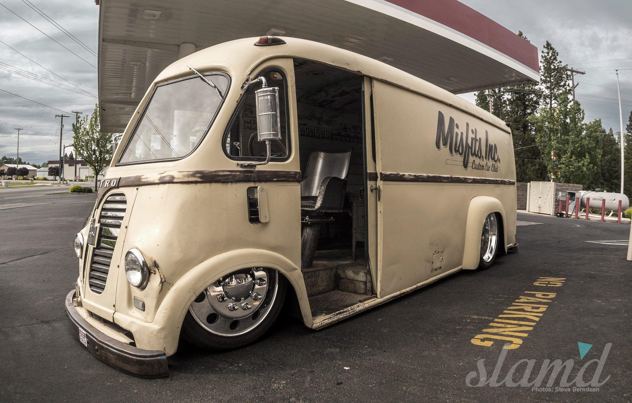 Slammed Van Custom vans, Panel truck