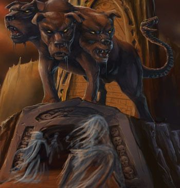 Mythology The Twelfth Labor Of Hercules Cerberus Greek And Roman Mythology Beast Creature Cerberus