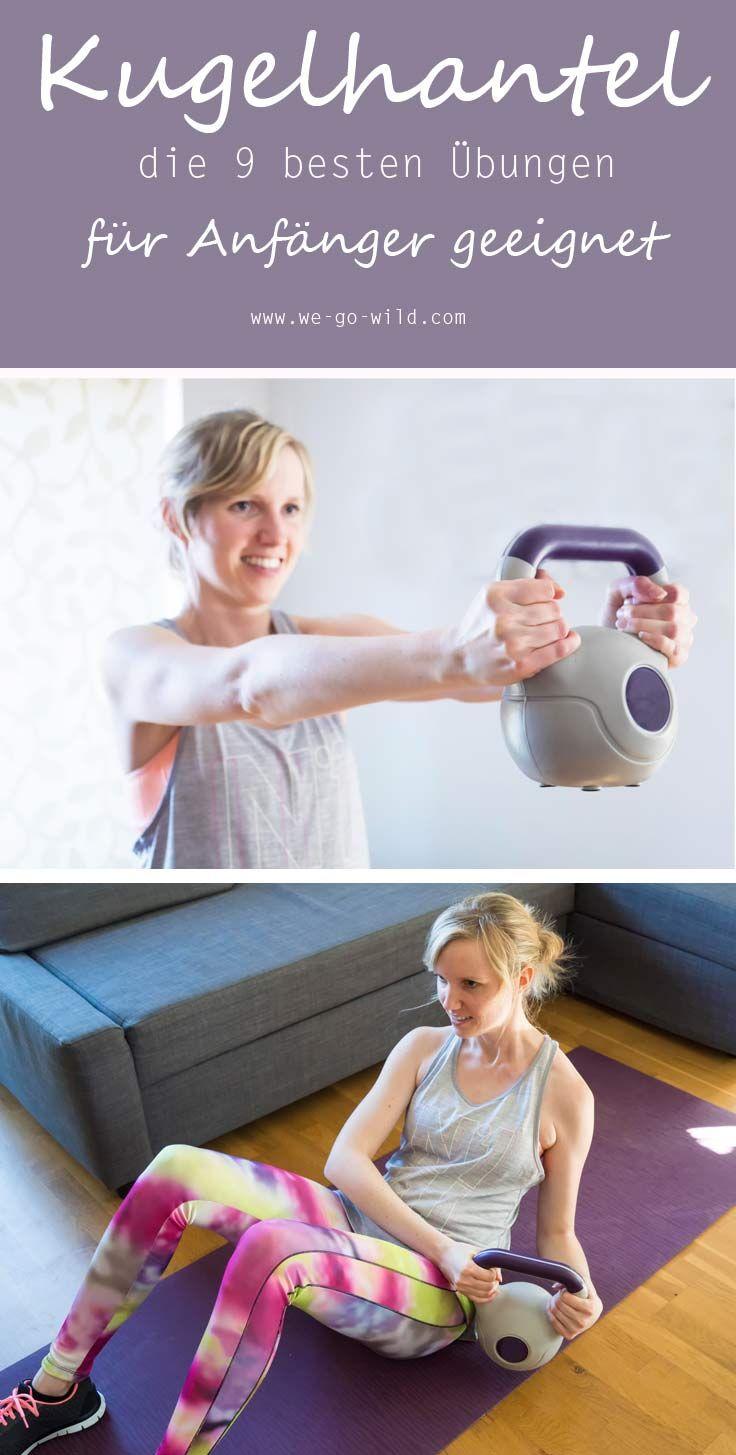 Kettlebell Training: Die 12 besten Kugelhantel Übungen für Anfängerinnen