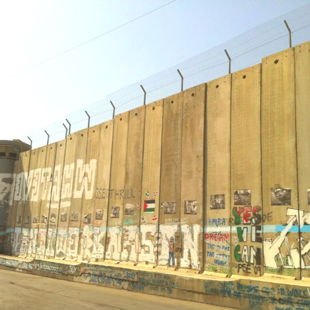 Palestine - many street artists do their art on the wall... | Street ...