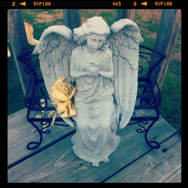 A real friend is like an angel who warms you by her presence and remembers you in her prayers. --Unknown