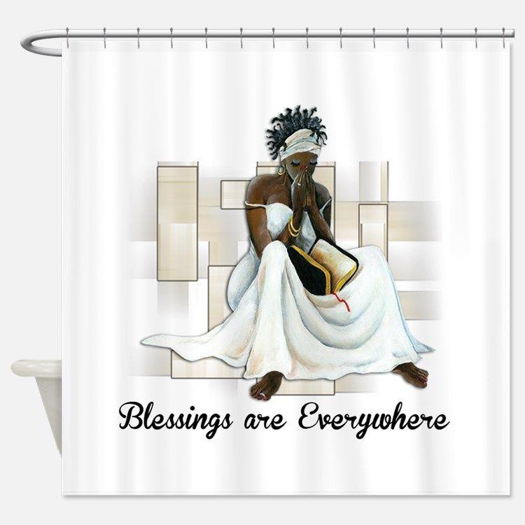 Lyingcat Mug Black Shower Curtains African Shower Curtain Girls Shower Curtain
