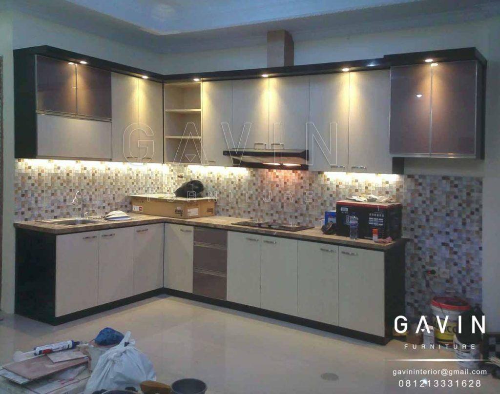 Desain Kitchen Set Minimalis Hpl Ramekitchen Com