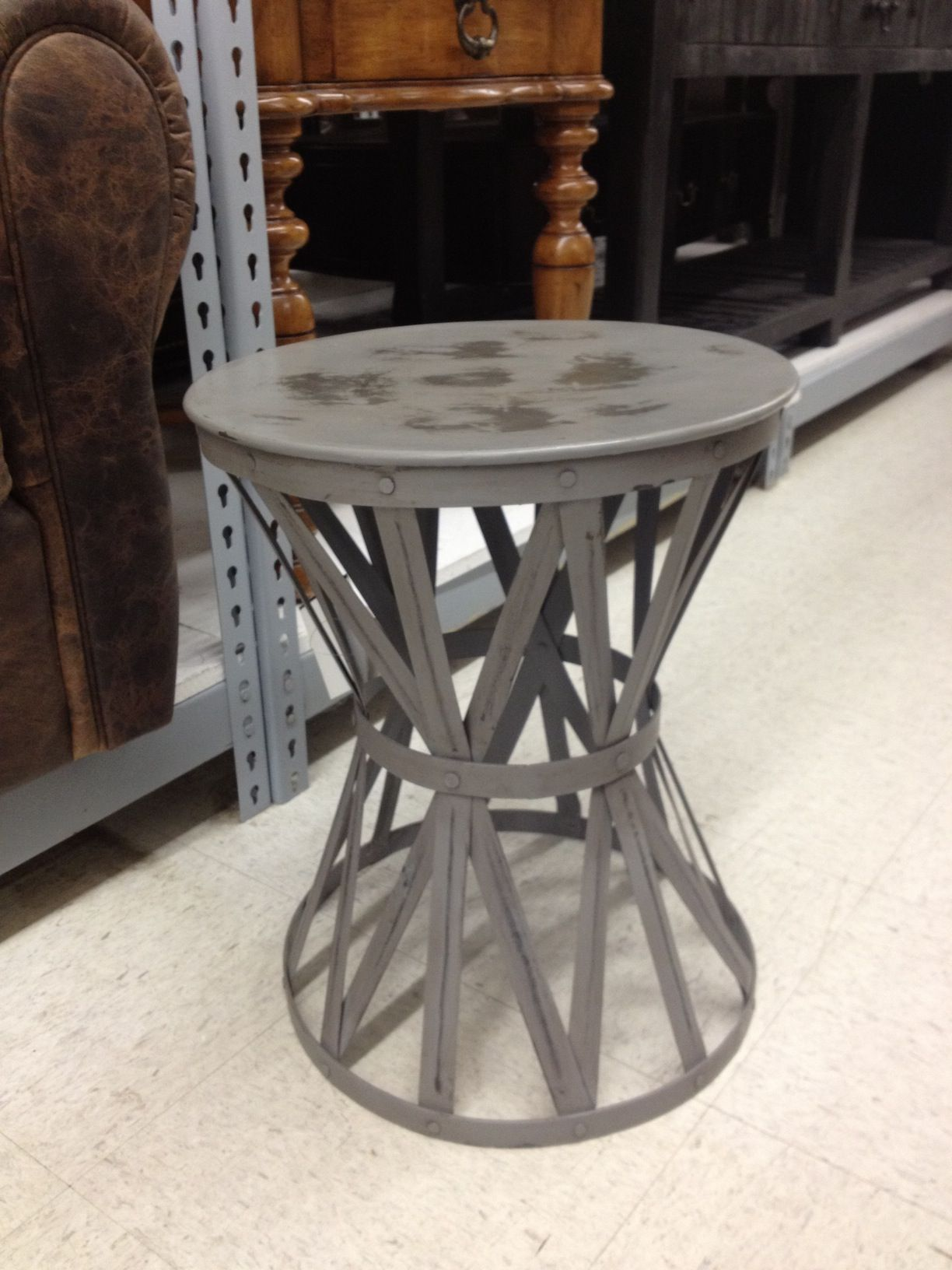 Side Table Option, Grey Tuesday Morning