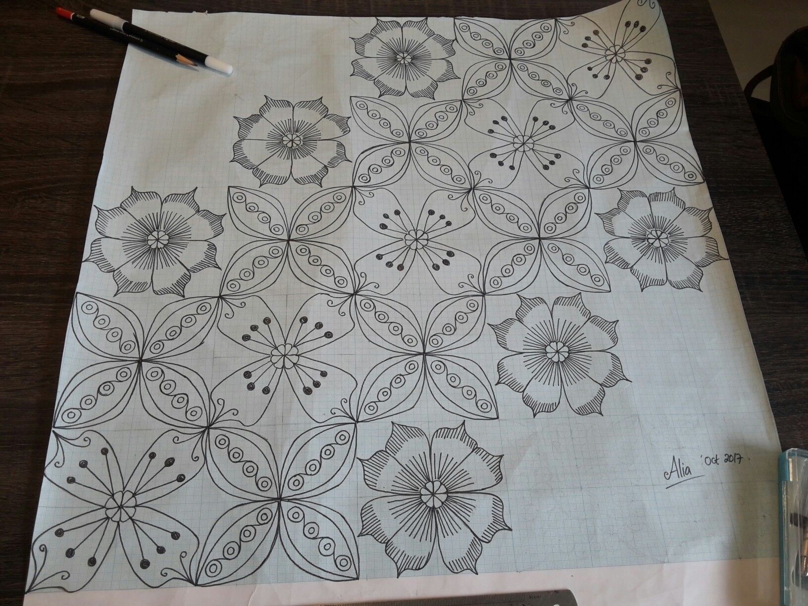 My New Pattern For Batik Tulis Inspired By Kawung