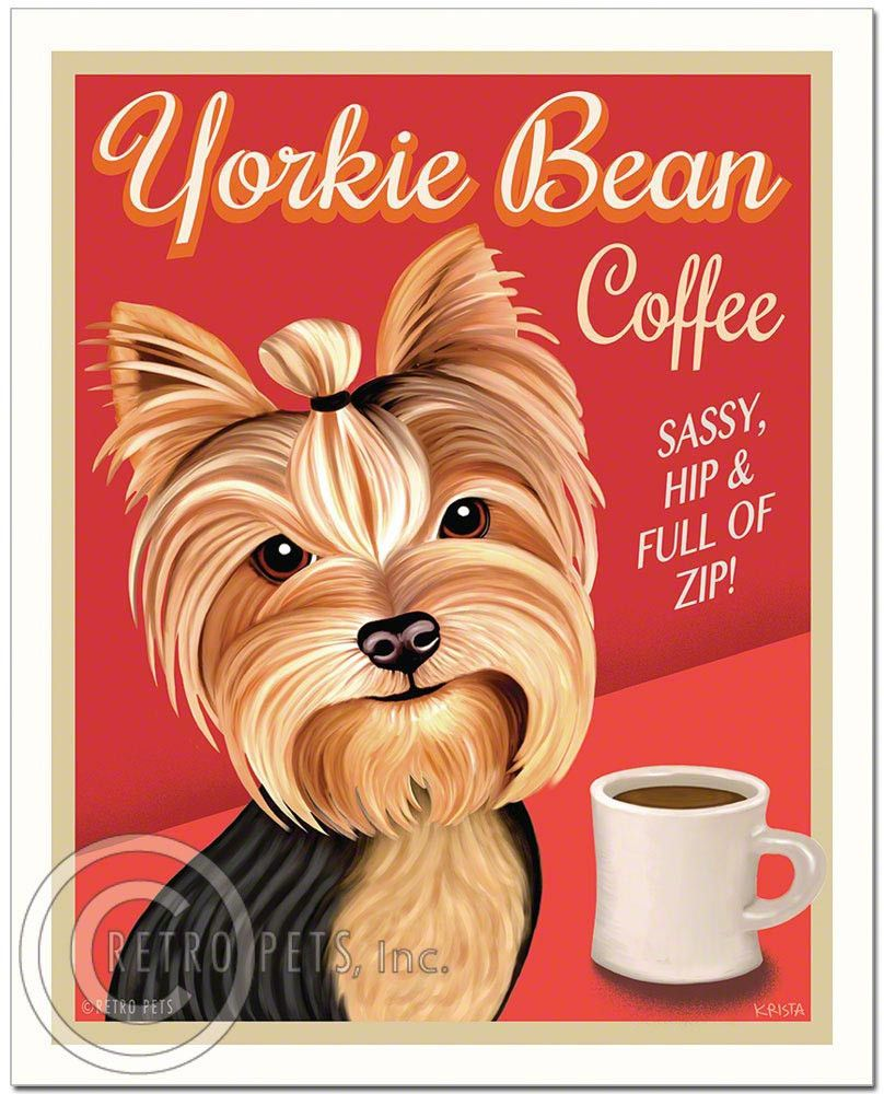 Yorkie Yorkshire Terrier Dog Briefcase Home Business Office Sign