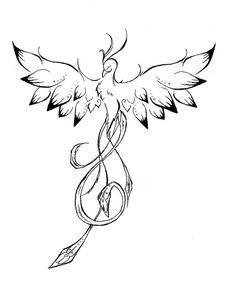 F6503c81b753800d7d4d3747d144612b Jpg 236 285 Tatouage Phoenix Tatouage Tatouage Minimaliste