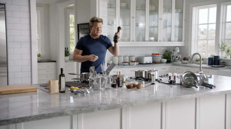 Gordon Ramsay Teaches Cooking Masterclass Review Part 1 Benjamin Mcevoy Luxury Kitchens Dream Kitchen Large Kitchen Island