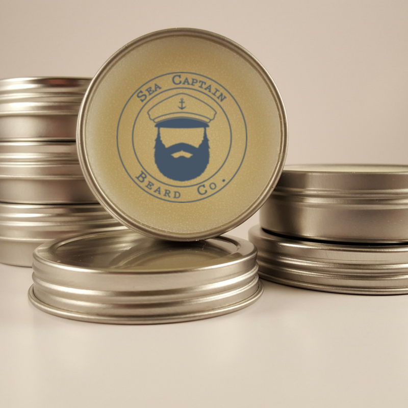 Older barbers used to make their own aftershave by soaking Bay leaves in Rum and letting them steep for weeks. It's smell is bold and spicy, so we added earthy blends of wood, ginger, and tobacco. Then we blended them into Mango and Shea Butters with Natural Bees Wax to add a little hold. This is NOT your grand dad's mixture. Try it if you dare! www.seacaptainbeardco.com #seacaptain #beard #beardoils #beardbalms #beardsoaps #mustachewax #apothecary #beardcare #mensgrooming #beardconditioner