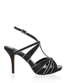 c5080f67cce Just bought these shoes and love wearing them with my boot-cut jeans. They  are the perfect height heel.