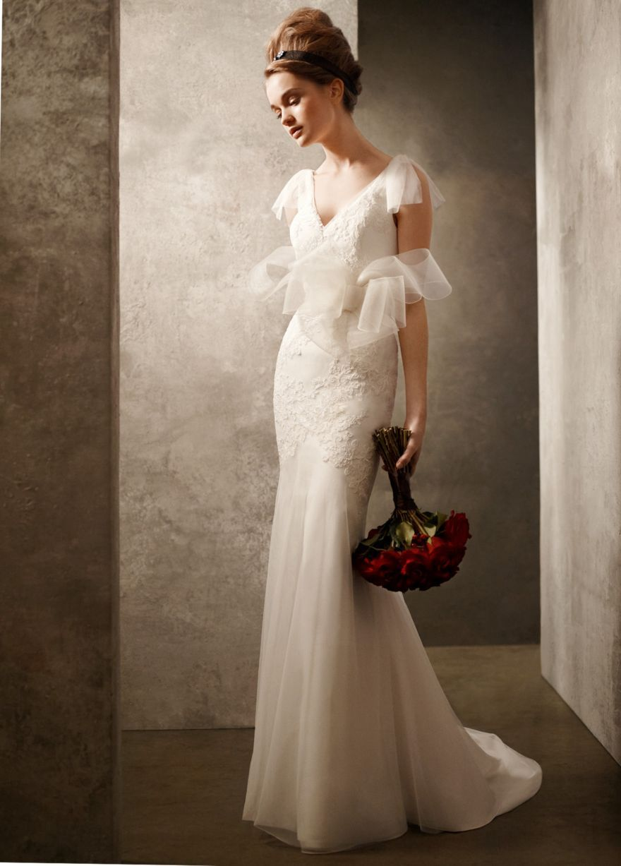 Red wedding dresses vera wang  Vera Wang White  front  Wedding and Showers  Pinterest  Vera