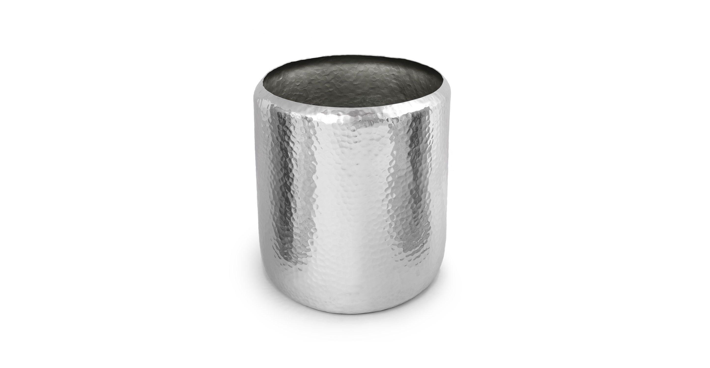 2 x silver decorative pot aluminum large article myria 2 x silver decorative pot aluminum large article myria contemporary accessories workwithnaturefo