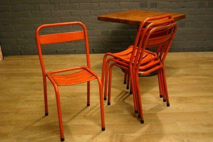 Foto Bistro stoelen Tolix