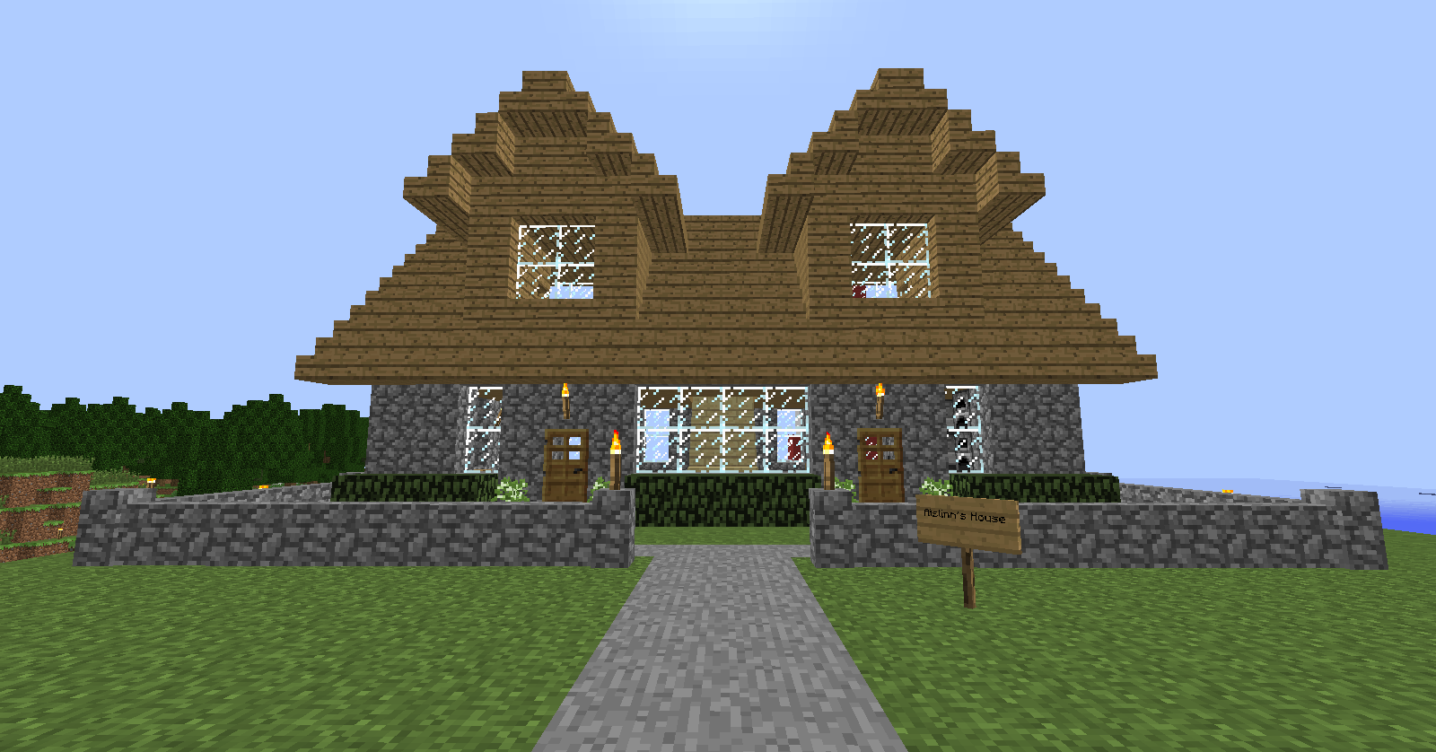Minecraft house ideas xbox 360 for Home design xbox