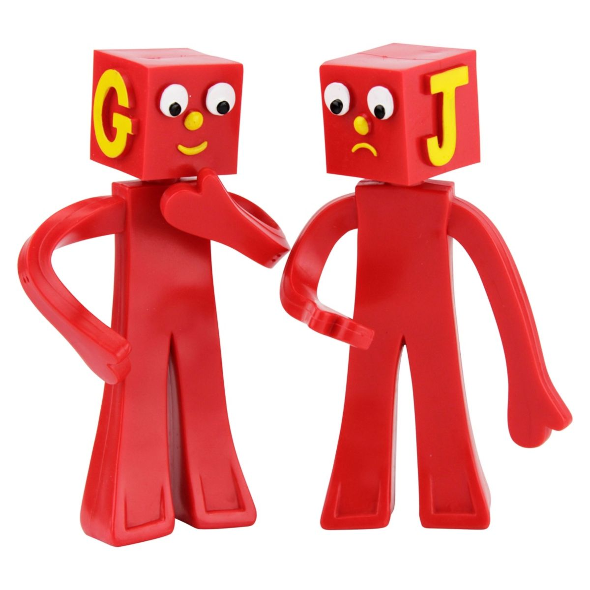 Gumby Nj Croce The Blockheads 5 In 2020 Gumby And Pokey Bendable Vintage Toys