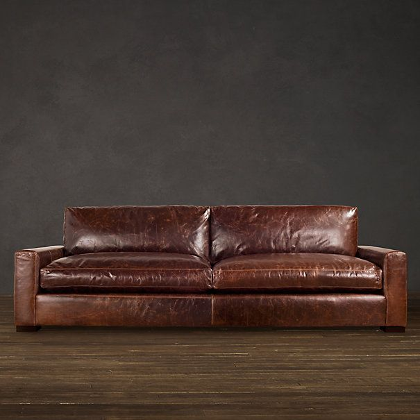 Maxwell Leather Sofa | Sofas and chairs | Leather sofa ...
