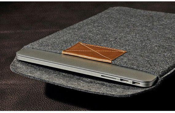 Handmade Felt macbook air, macbook pro, Laptop