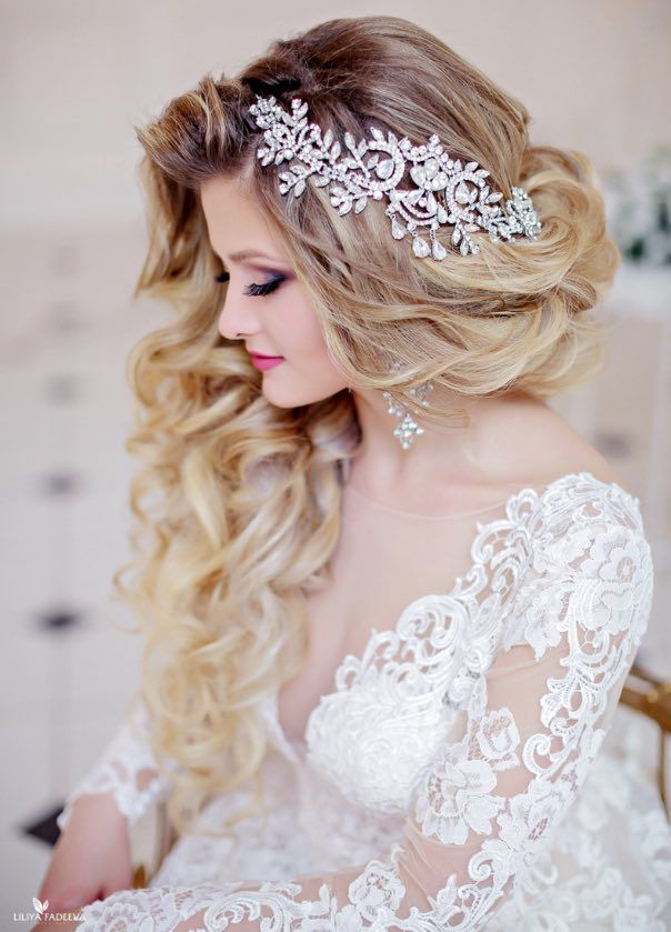 Wedding Hairstyle Inspiration Anna Komarova Hair Makeup School
