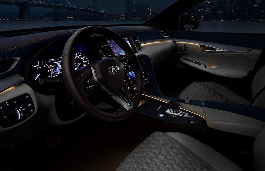 Interior 2020 Infiniti Qx50 Infiniti New Infiniti Compact Crossover