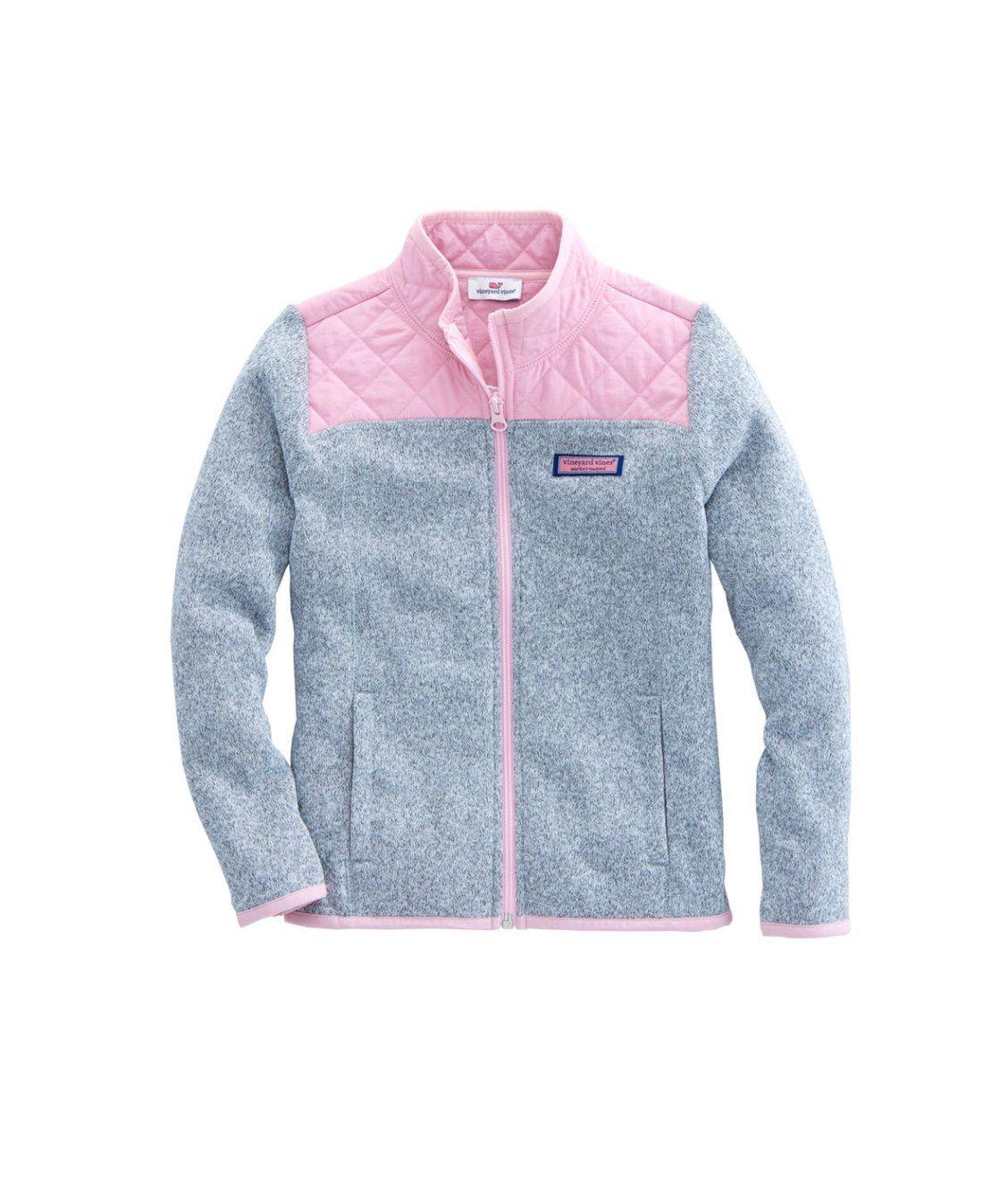 Girls sweater fleece full zip new arrivals pinterest