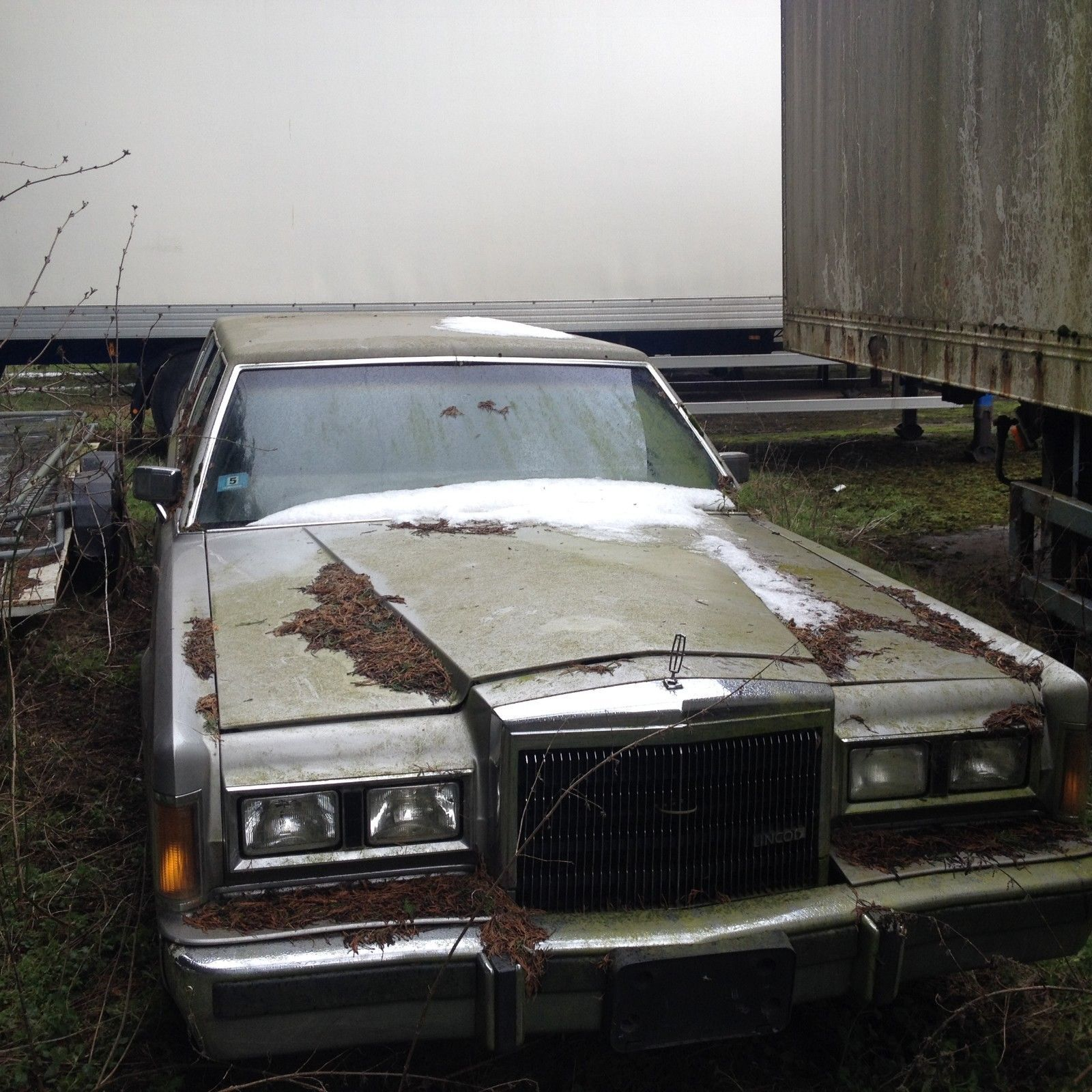 Ebay 1989 Lincoln Towncar Stretch Limo Silver Limousine Barn Find