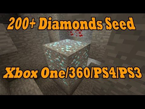 200 Diamond Seed Showcase Plus 30 Emeralds And 2 Villages Beside Spawn Mcxone Seeds Mcxone Discussion Minecraft Xbox One Edi Minecraft Xbox One Xbox