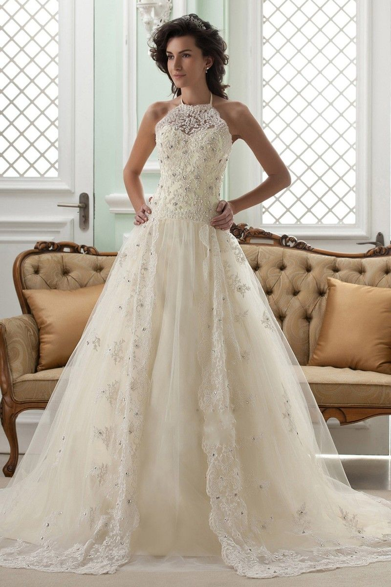 Click to buy ucuc vestido de noiva hot elegant wedding dress