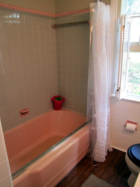 Easiest Way To Paint Over Tile Follow This Blog Tile Bathroom Painting Bathroom Tiles Painting Old Bathroom Tile