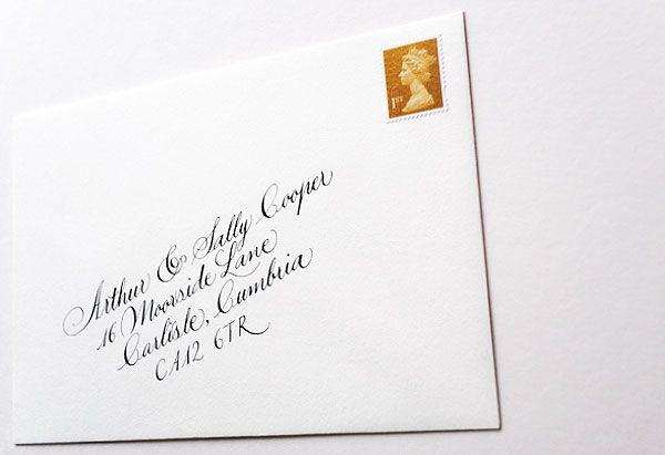 wedding invitations in the post (1) Lettres et avoir Pinterest - best of invitation english