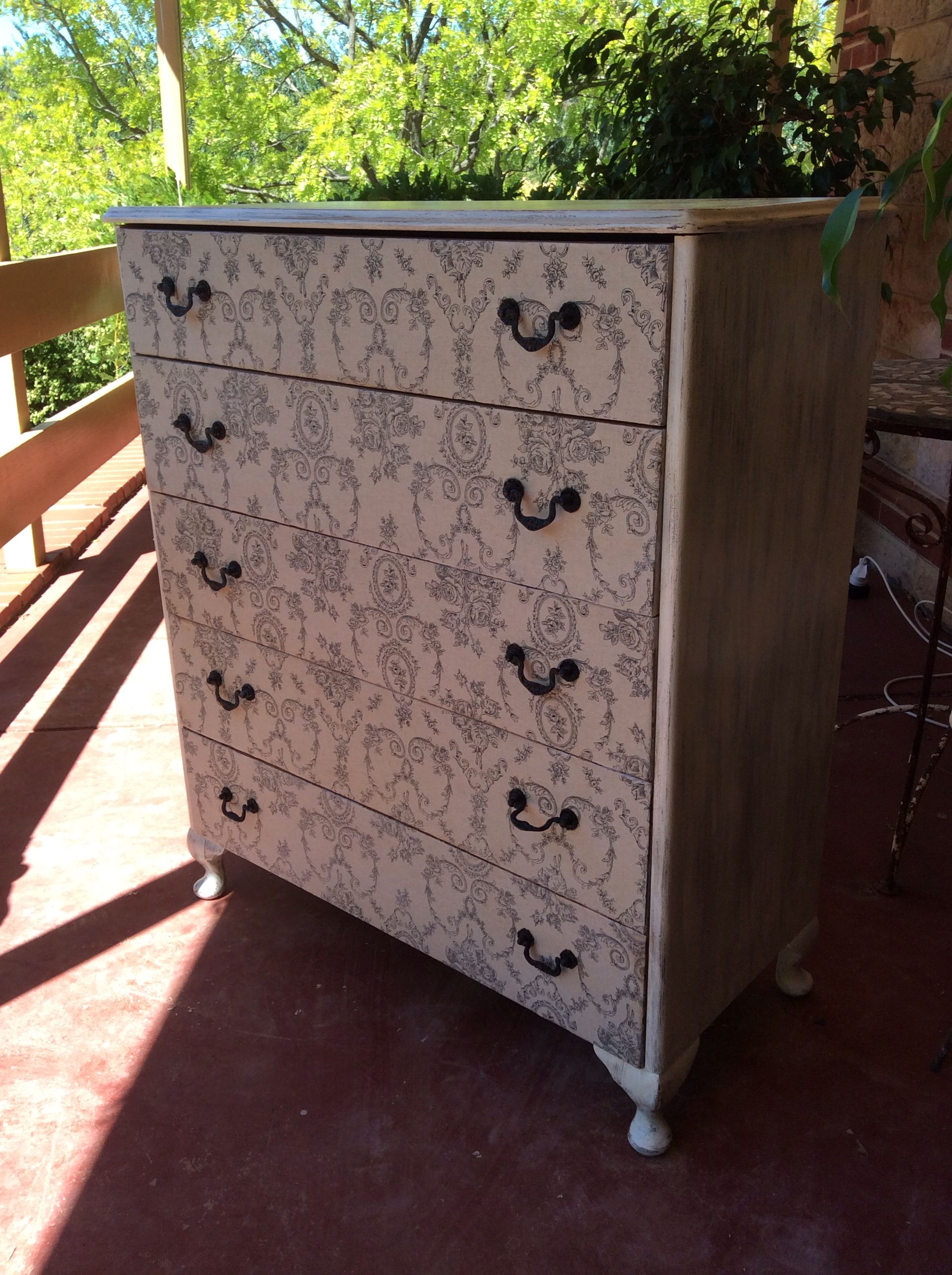 Diy chest of drawers make over