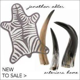 new items on sale - jonathan adler and arteriors home