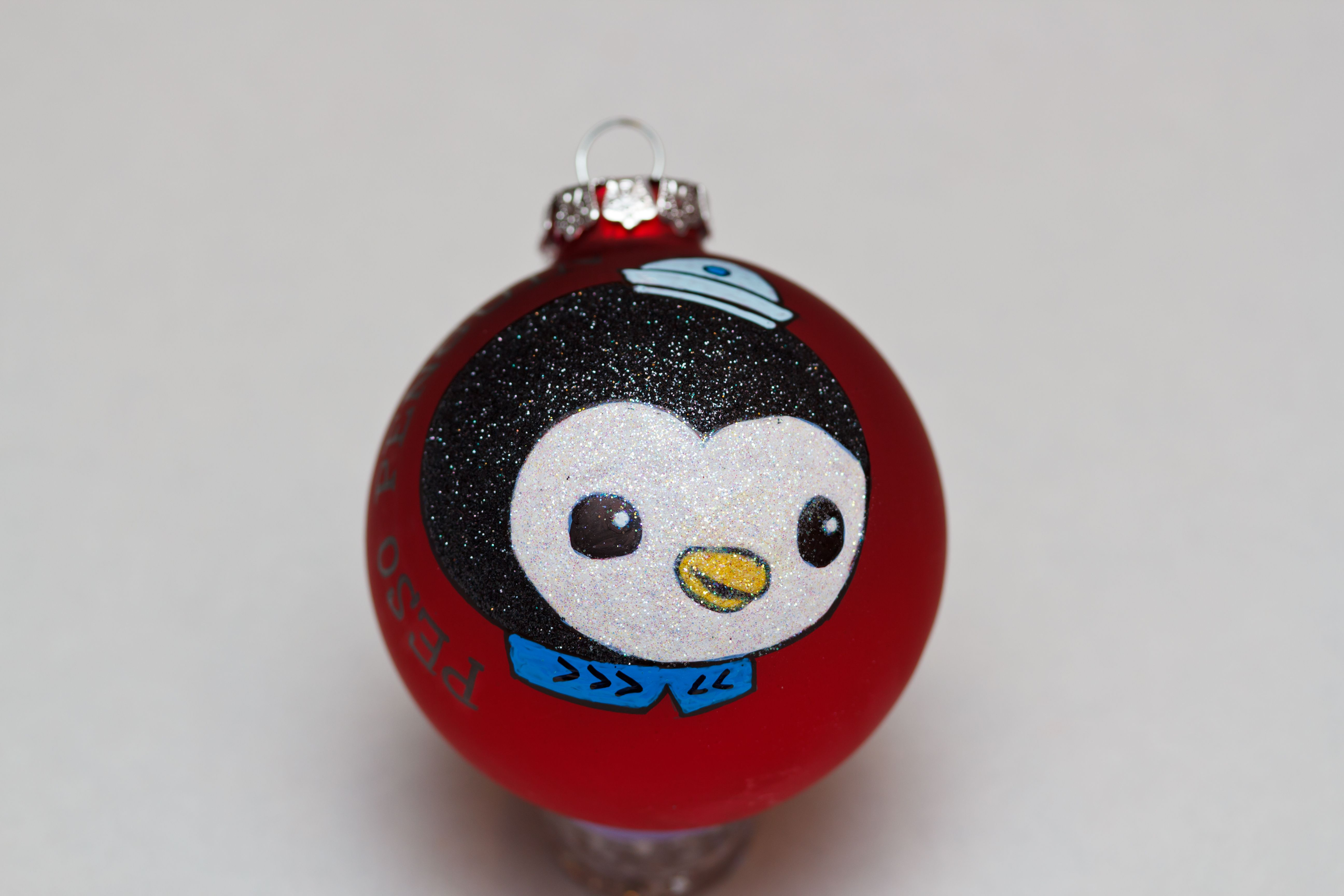 Peso Penguin of The Octonauts. Glass ornament made by me! | Glass ...