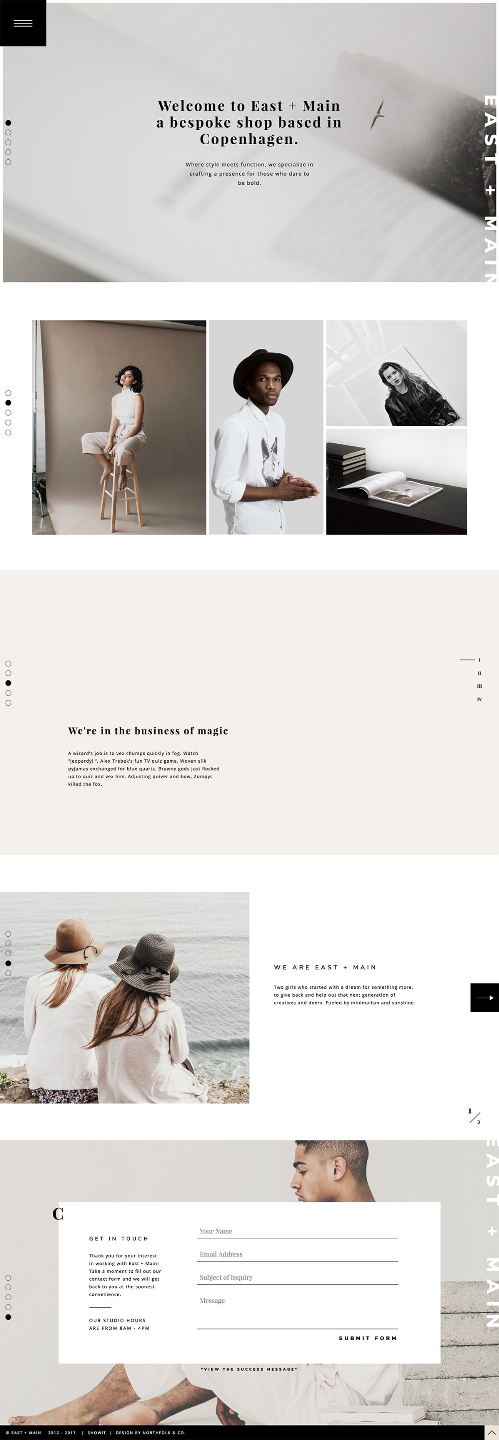Showit Premium & Free Photography Website Templates