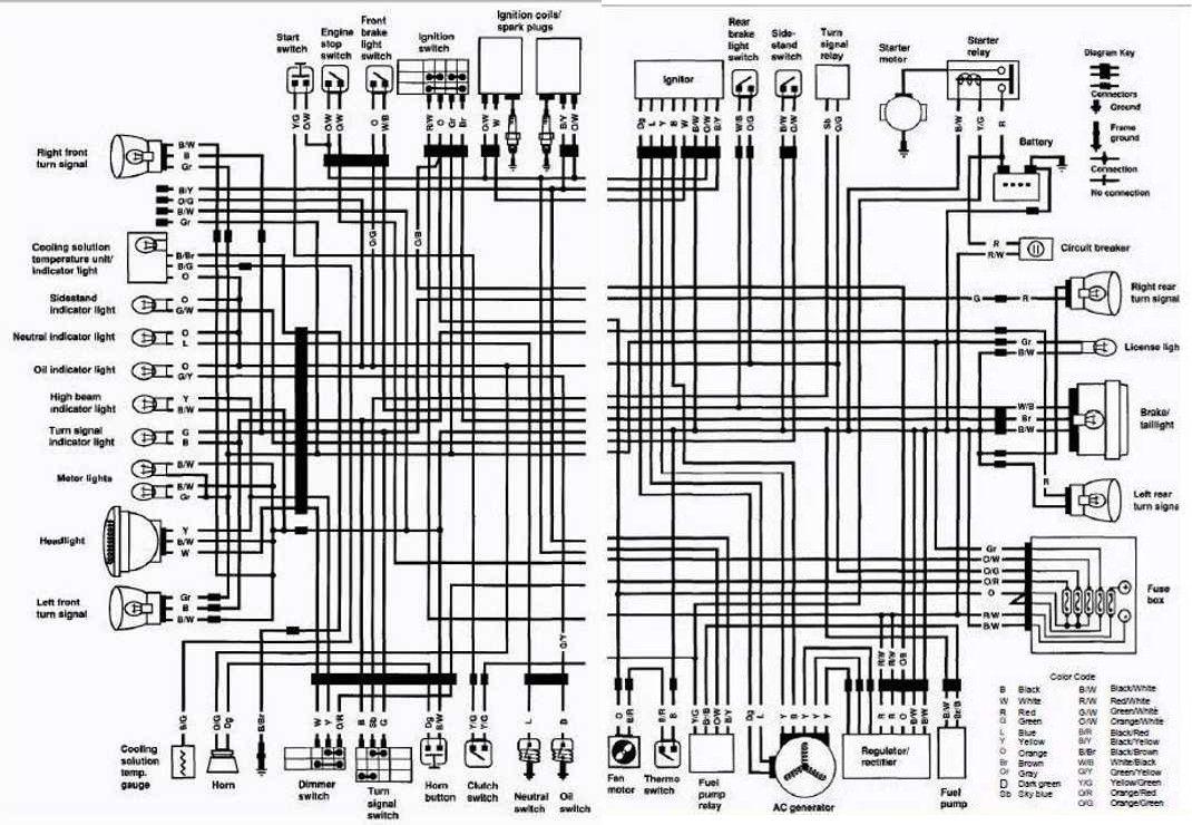 medium resolution of suzuki intruder 125 wiring diagram wiring diagram article suzuki vs700 intruder motorcycle 1987 complete electrical wiring